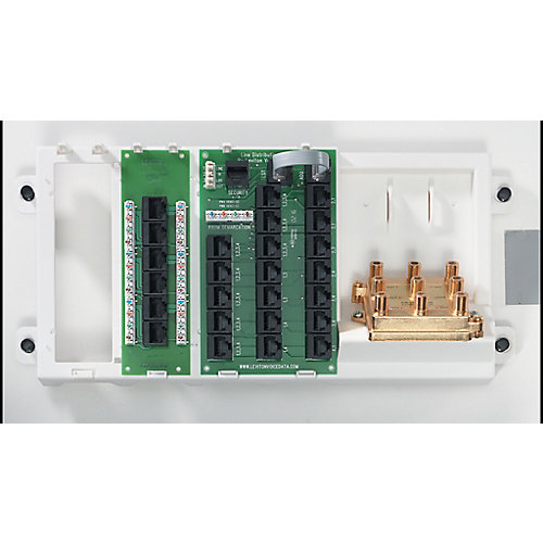 Advanced Home Telephone and Video Panel