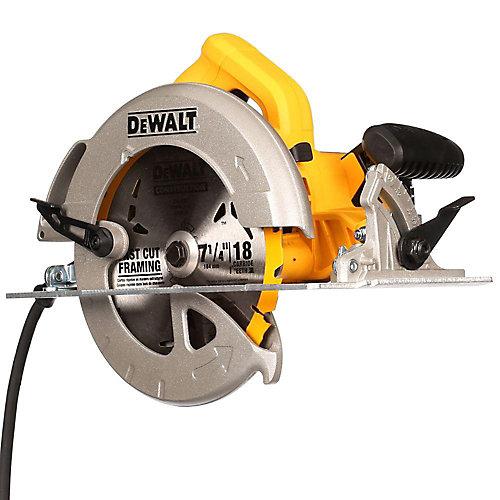 15 amp Corded 7 1/4-inch Lightweight Circular Saw