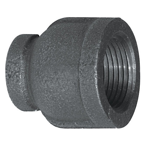 Raccord Fonte Noire Manchon Réducteur 3/4 Pouce x 1/2 Pouce