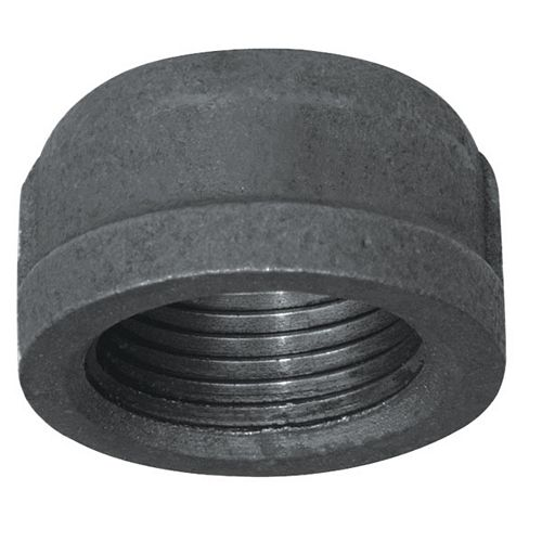 Fitting Black Iron Cap 3/4 Inch