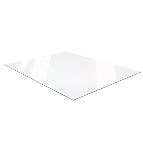 Feuille à miroir en acrylique de 0.29 cm x 60 cm x 121 cm (0,118po x 24po x 48po)