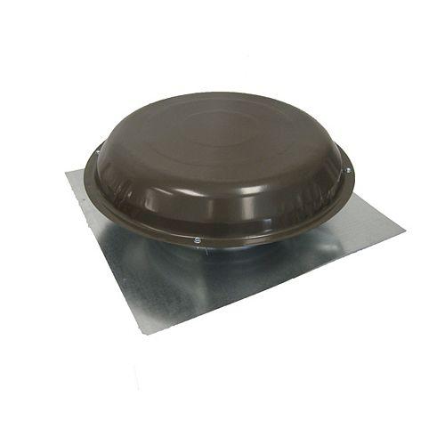 GAF Master Flow Ventilateur de toit 1250 CFM Bois Défraichi