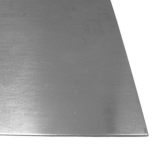 24 x 36-inch 26 Gauge Steel Sheet - Galvanized