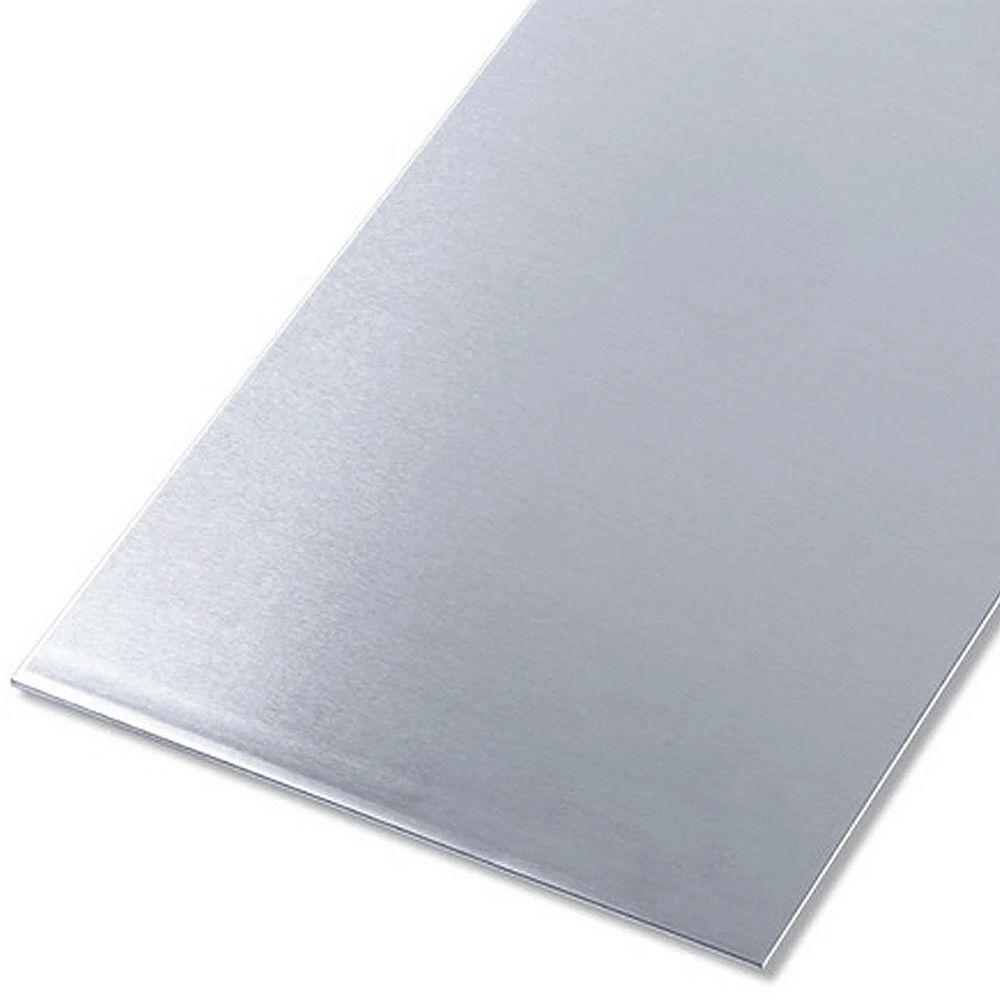 Paulin 8 X 24 X 0 025 Inch Aluminum Sheet Metal The Home Depot Canada