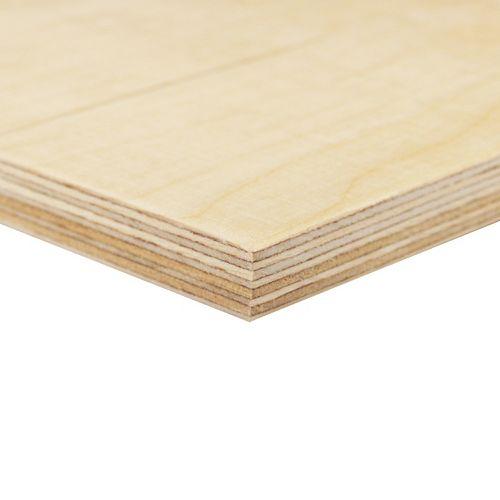 Alexandria Moulding 11.5 mm (1/2 inches) x 2 Feet x 4 Feet Russian Birch Handy Panel