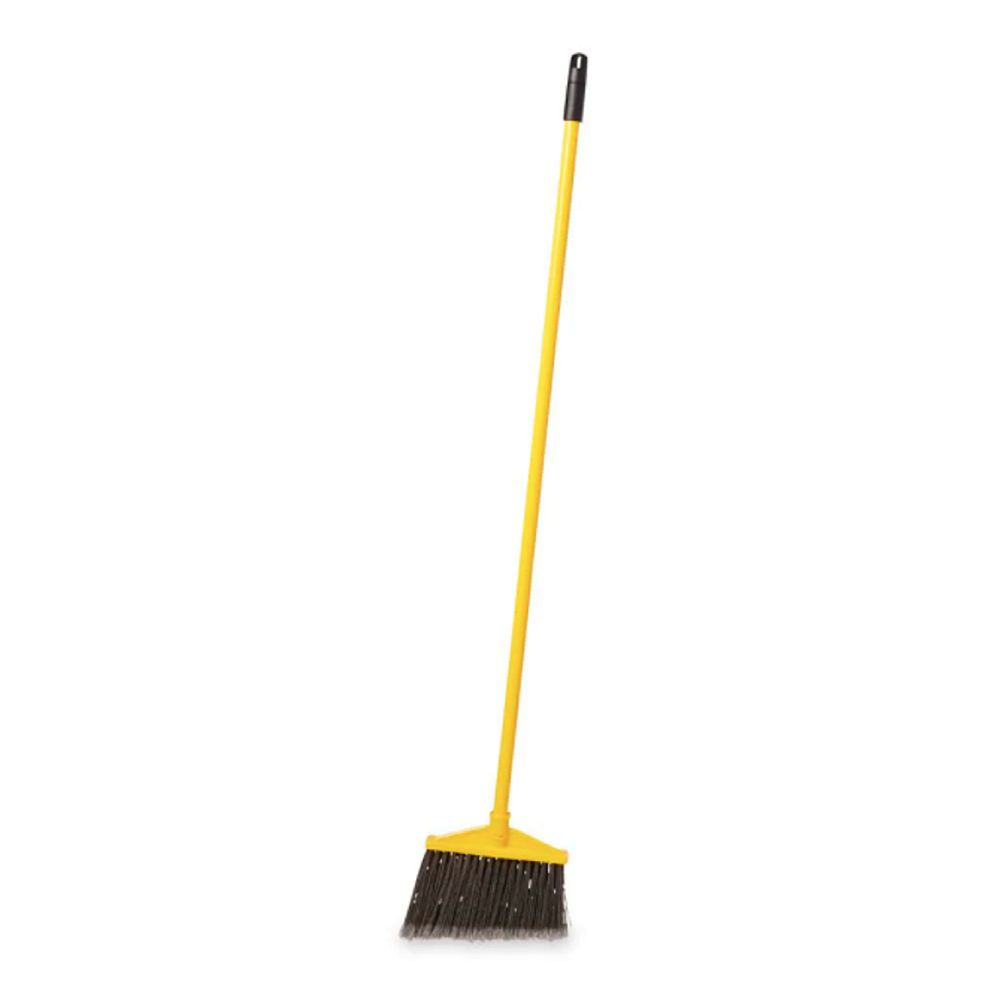 Rubbermaid 10.5-inch Angle Broom with 60-inch Handle