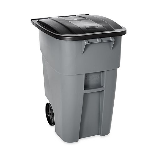 Rubbermaid 189 L (50-Gallon) Brute Rollout Trash Container