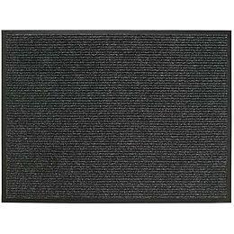 3 ft. x 4 ft. Platinum Charcoal Door Mat