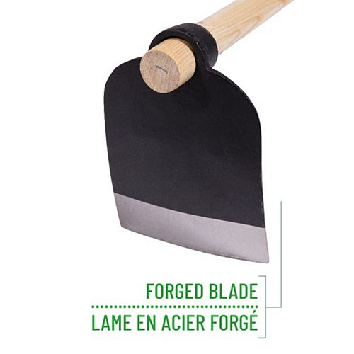 Garden Care Forged Italian Hoe, 54-inch Handle