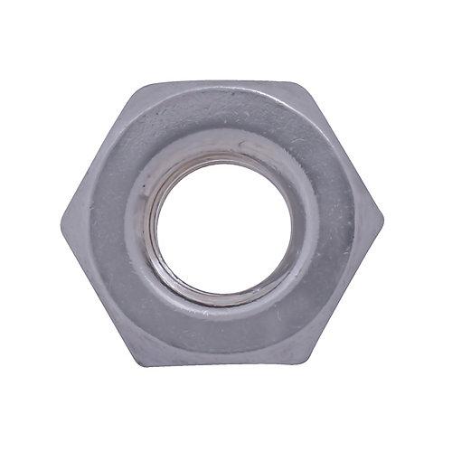 Écrou hexagonal 1/4 po-20 en acier inoxydable 18,8 Écrou de machine à vis en acier inoxydable