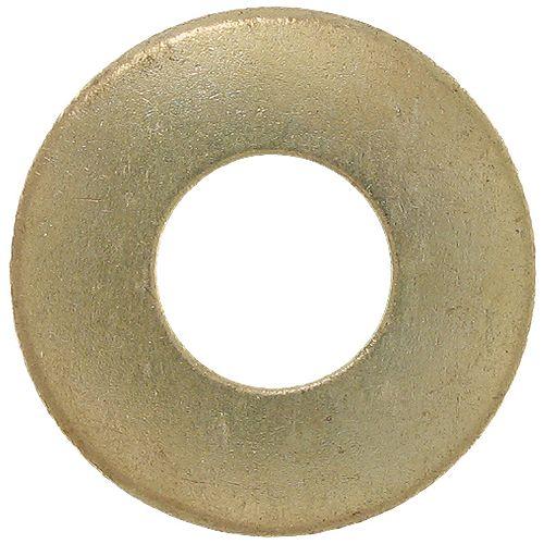 #Rondelle plate en laiton n° 8 (3/8 pouces de diamètre extérieur)