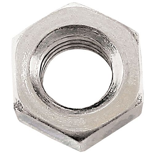 M8-1.25 Class 8 Metric Hex Nut-DIN 934 - Zinc Plated