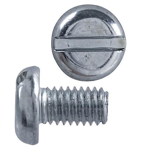 M4x6 vis de mécanique tête fendue métrique