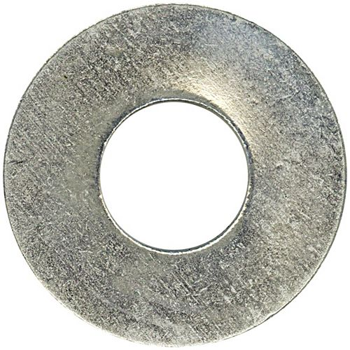 #8 Steel-Regular Spring Lock Washers - Zinc Plated