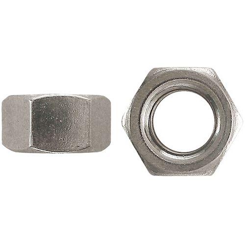 #10-24 Steel Hex Machine Screw Nut - Zinc Plated