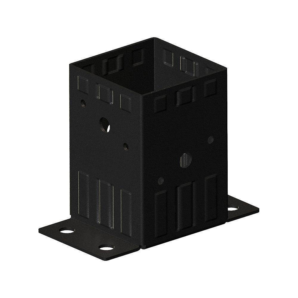 Peak Products Dispositif de fixation, kaki (4 po x 4 po)