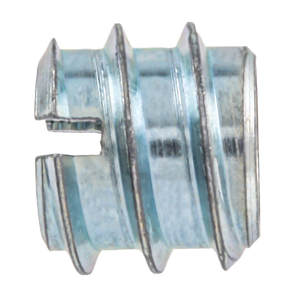 Paulin 5/16-18 x 12 mm Inserts de couteau plaqués zinc