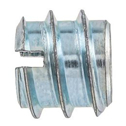 5/16-18 x 12 mm Inserts de couteau plaqués zinc
