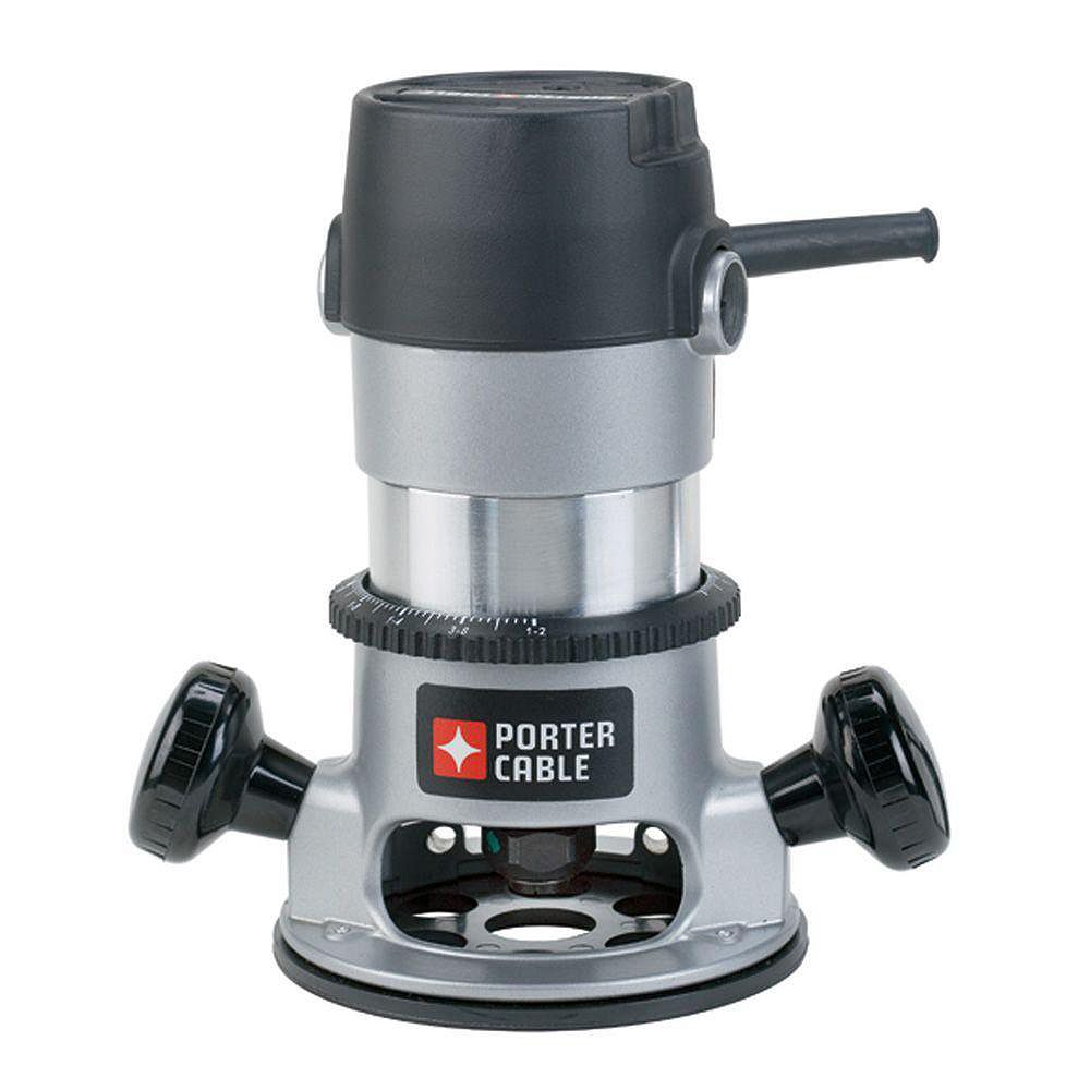 PORTER-CABLE 11 Amp Corded 1-3/4 Horsepower Fixed Base Router Kit