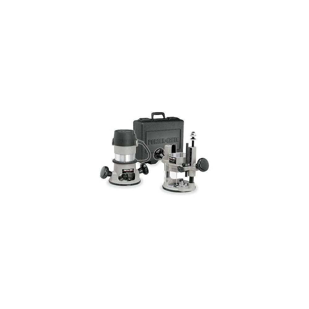 PORTER-CABLE 1-3/4 Hp Plunge Router Kit