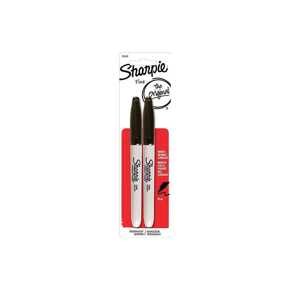 Sharpie Fine Black Marker (2-Pack)