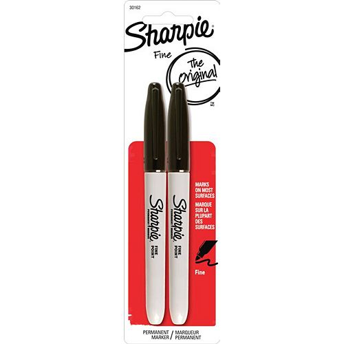 Fine Black Marker (2-Pack)