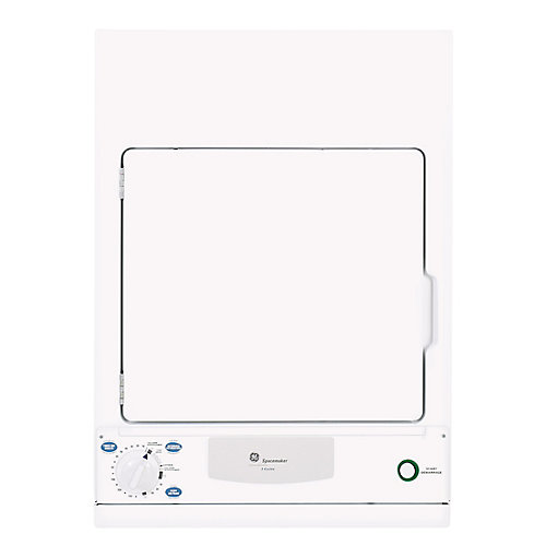 Spacemaker 3.6.0 cu. ft.Stationary Electric Dryer in White