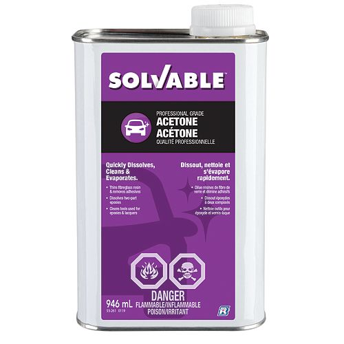 Professional Grade Acetone 946 ml