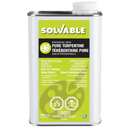 Professional Grade Pure Turpentine