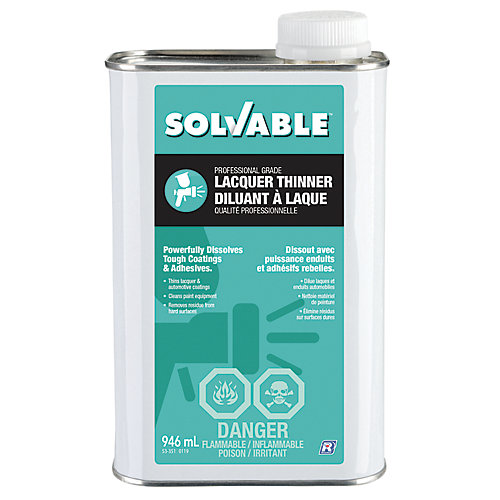 Professional Grade Lacquer Thinner