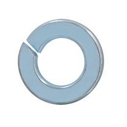 """Rondelles-freins à ressort 5/16"""" en acier - plaquées zinc - 50 pièces"""