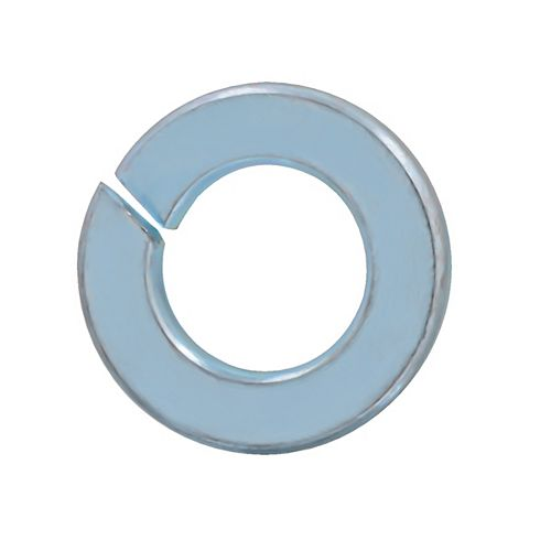 5/16-inch Steel-Regular Spring Lock Washers - Zinc Plated