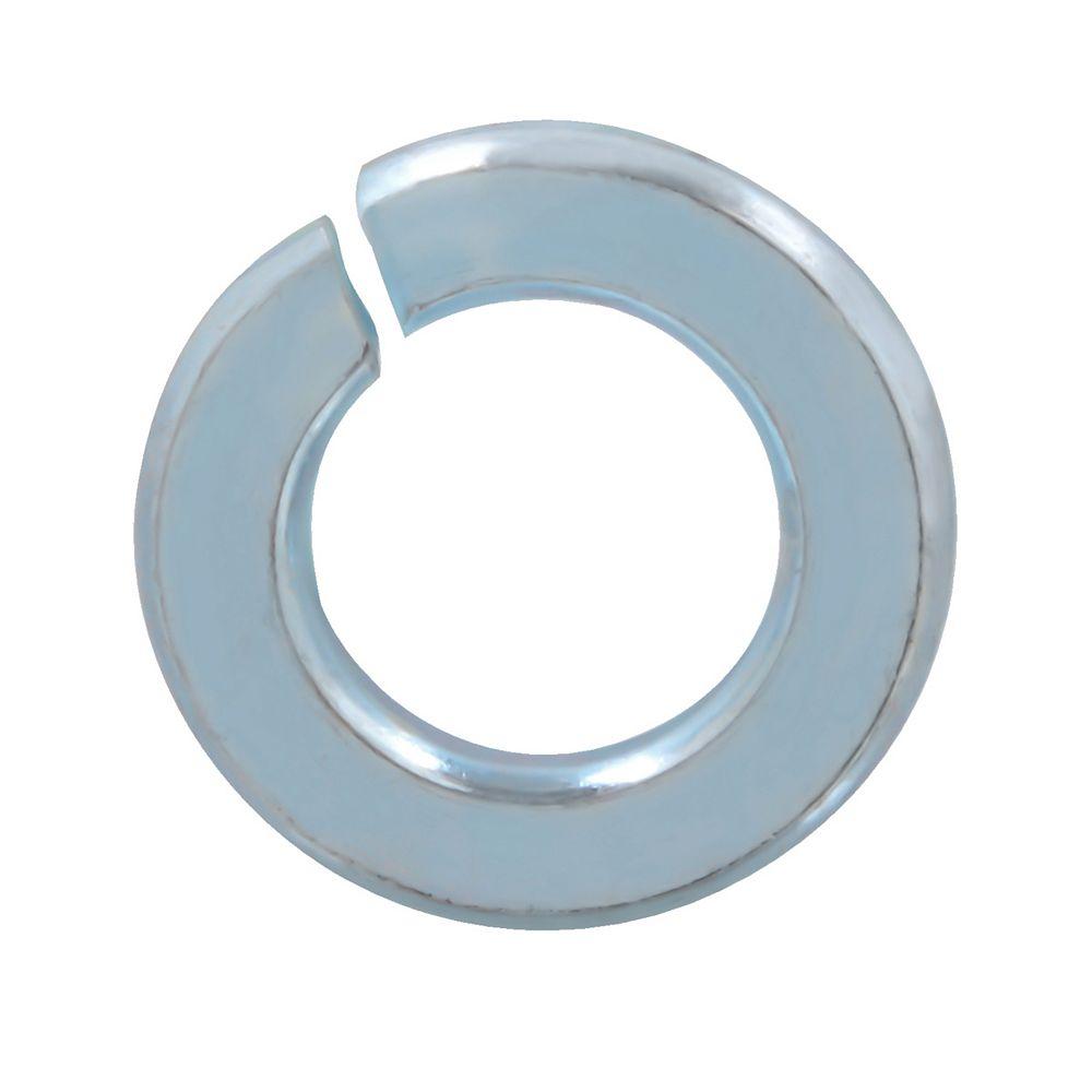 Paulin 3/8-inch Steel-Regular Spring Lock Washers - Zinc Plated