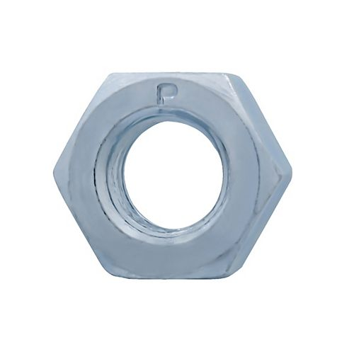5/16-inch -18 Finished Hex Nut - Zinc Plated - Grade 2 - UNC