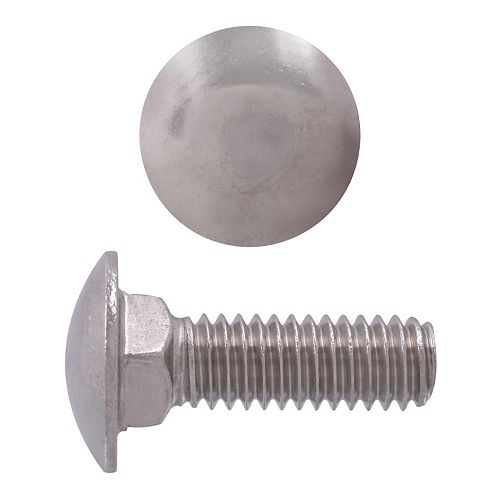 5/16-inch-18 x 1-inch 18.8 Stainless Steel Carriage Bolt - UNC