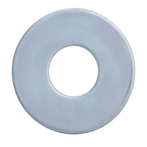 3/4-inch Plain Steel Washers - Zinc Plated