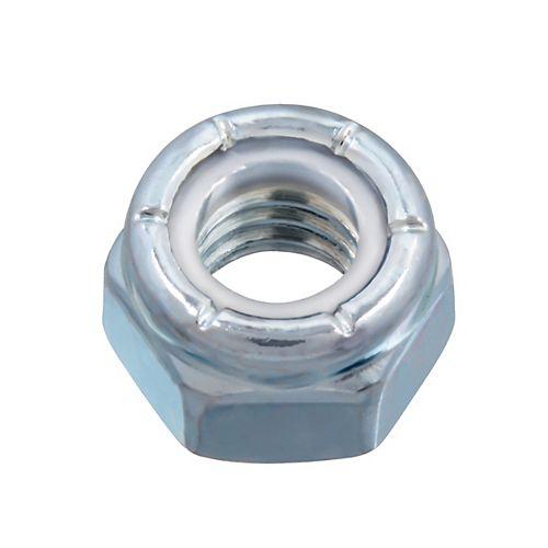 Écrou d'arrêt en nylon de 5/16 po-18 - Pozi-Lok - Plaqué zinc - UNC