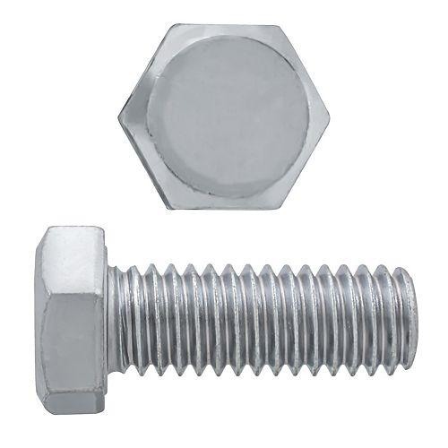 3/8-inch-16 x 1-inch 18.8 Stainless Steel Hex Head Cap Screw - UNC