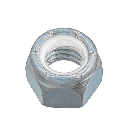 Écrou d'arrêt en nylon de 7/16 po-14 - Pozi-Lok - Plaqué zinc - UNC