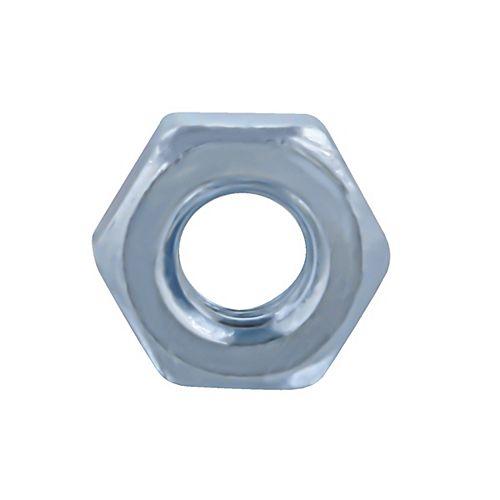 Paulin Écrou hexagonal 1/4 po -20 fini - zingué - Grade 2 - UNC