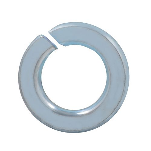 1/2-inch Steel-Regular Spring Lock Washers - Zinc Plated
