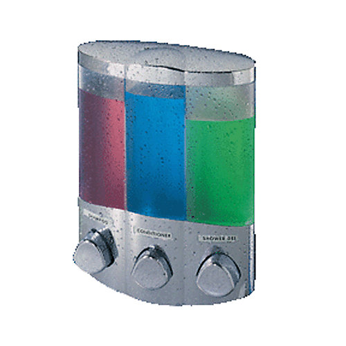 TRIO Dispenser for your Favorite Shower Liquids