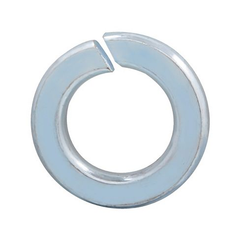 5/8-inch Steel-Regular Spring Lock Washers - Zinc Plated