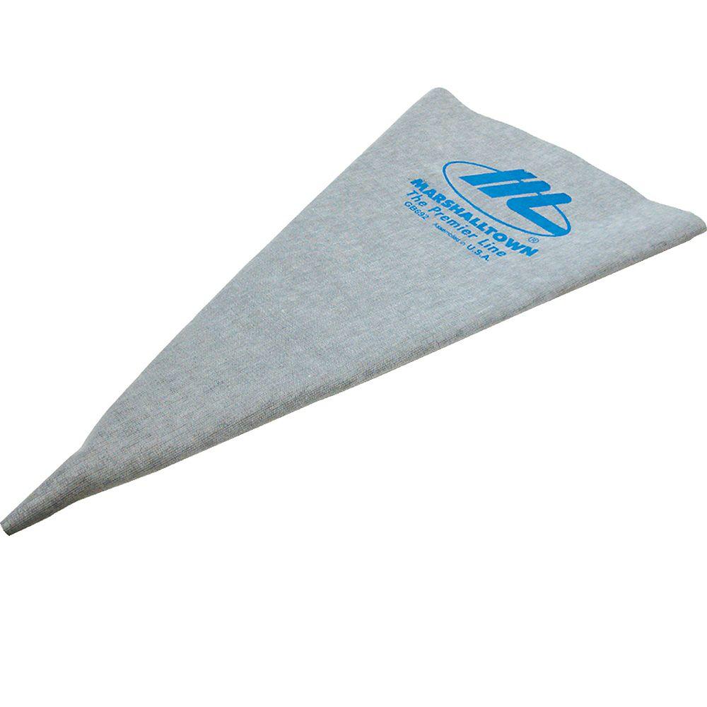 Marshalltown Poche à coulis en vinyle 12 po X 24 po (30,5 cm x 61,0 cm)