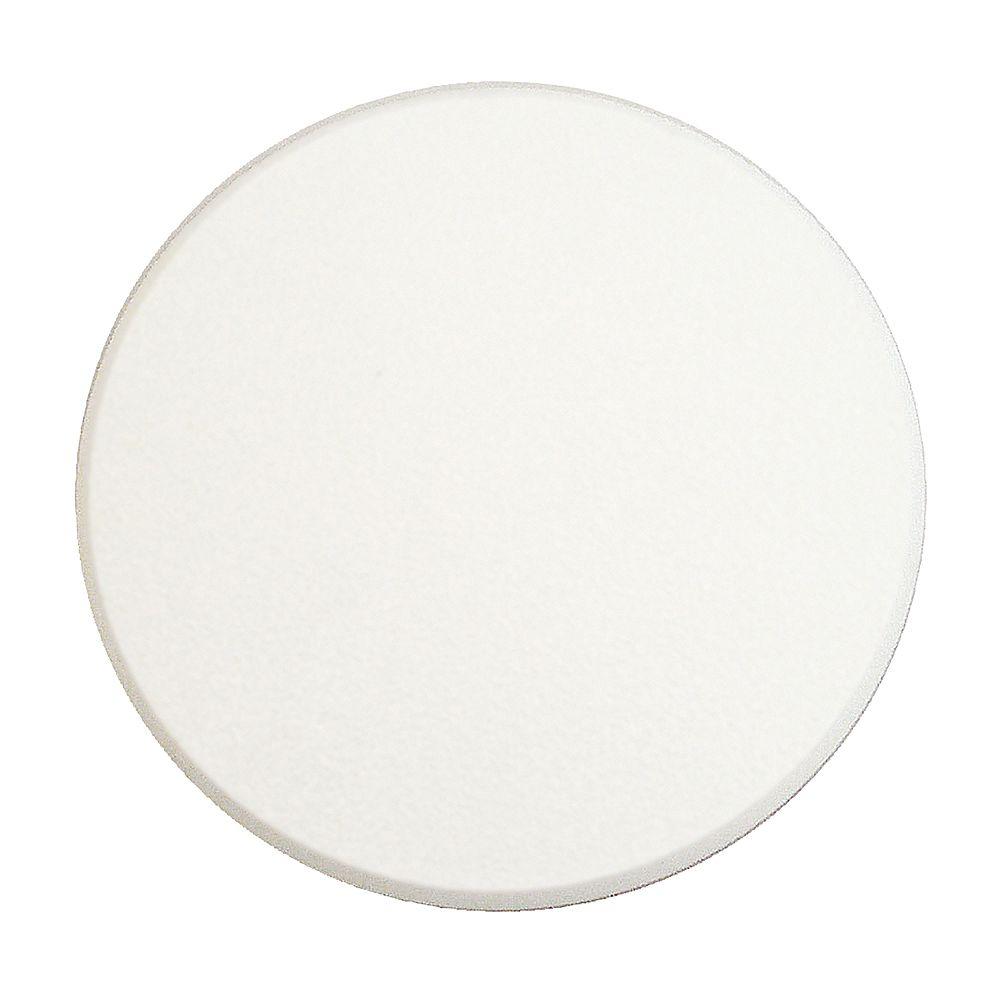 Prime-Line Protecteur mural autocollant, 5 po, vinyle rigide, blanc