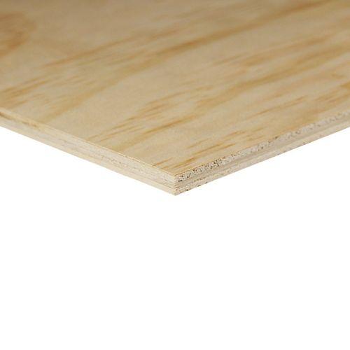 1/4-inch x 48-inch x 48-inch G1S Plywood Handy Panel