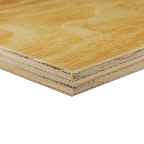 1/2-inch x 24-inch x 48-inch G1S Plywood Handy Panel