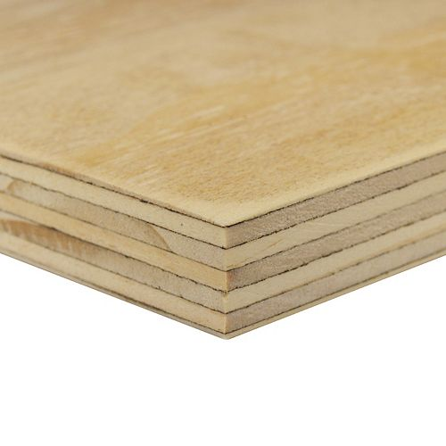Alexandria Moulding G1S Plywood 18mm X 24 Inches X 48 Inches