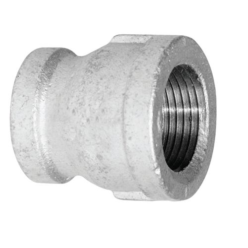 Aqua-Dynamic Fitting Galvanized Iron Coupling 2 Inch x 1-1/2 Inch