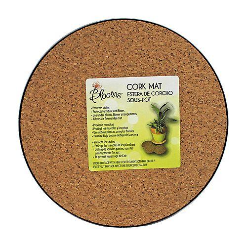 8 inch Cork Mat